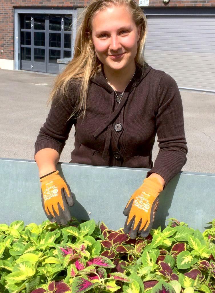 Alma Engberg on PihanTekijöiden uusi työnjohtaja.